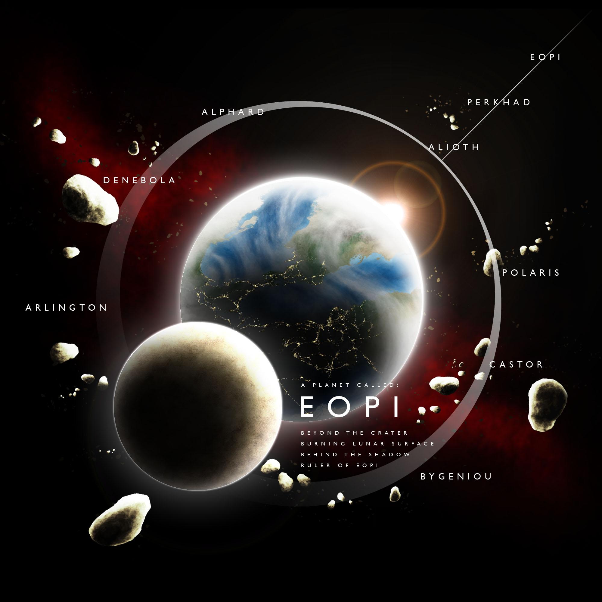 variante con le mappe del pianeta Eopi